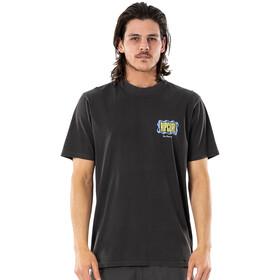 Rip Curl Mind Wave Logo Tee Men washed black